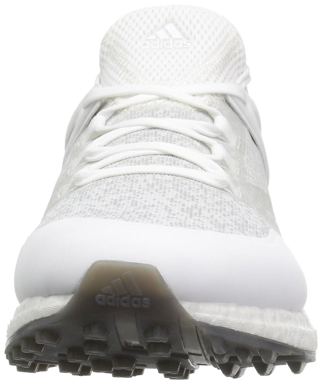 hot sale online 002ac cd124 zapatillas de golf adidas Golf Crossknit Boost para hombre Blanco    Plateado   Negro - Edición Especial Verano Blanco