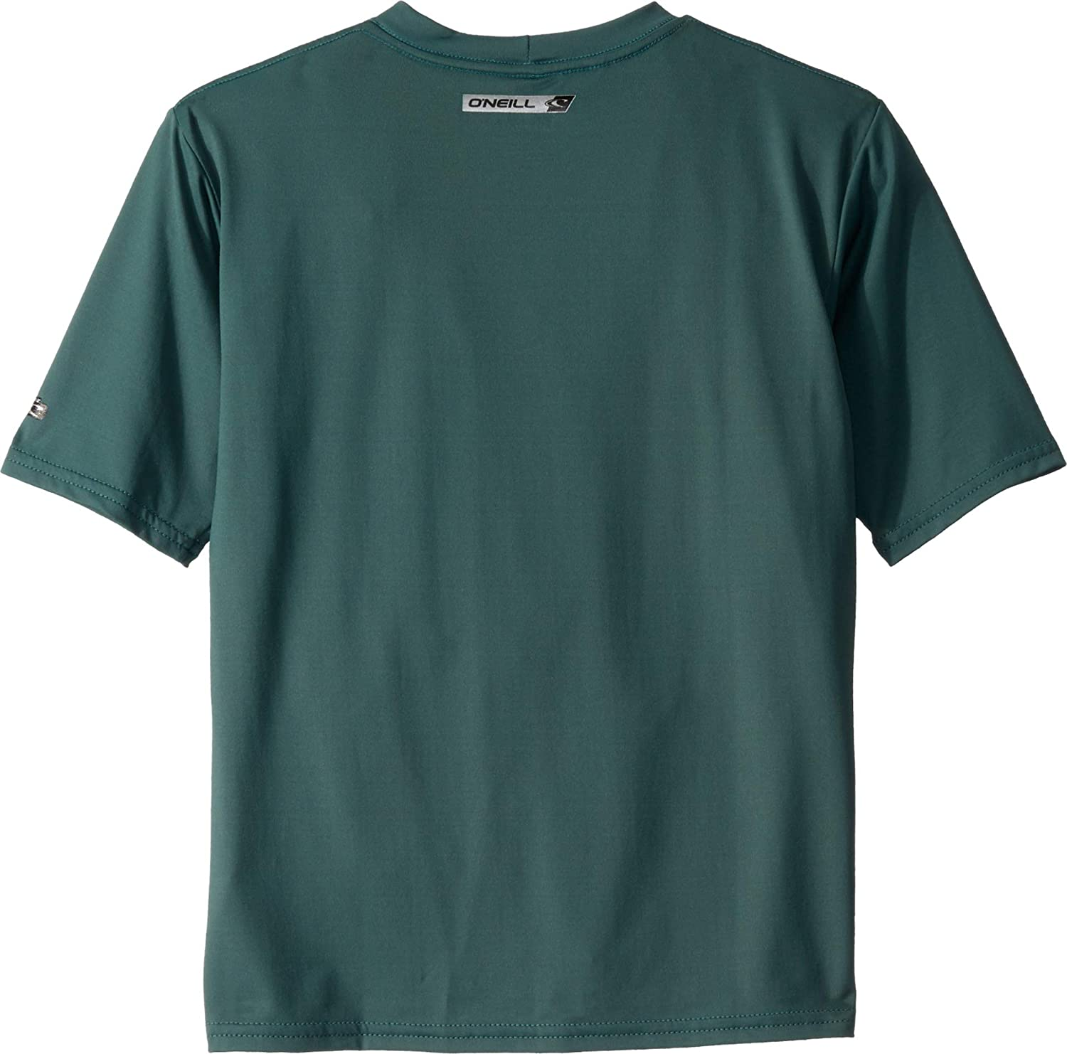 Size 14 ONeill Wetsuits Youth Premium Skins Short Sleeve Sun Shirt Teal