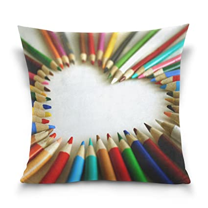 amazon com ethel ernest home decor zippered pillowcase colorful
