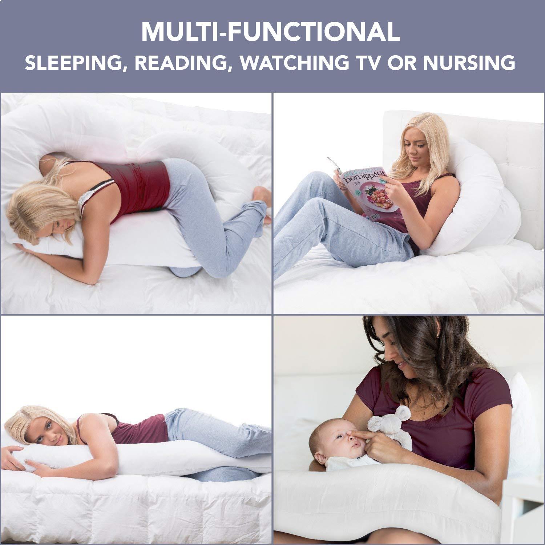 Amazon.com: ComfySure almohada de cuerpo completo para ...