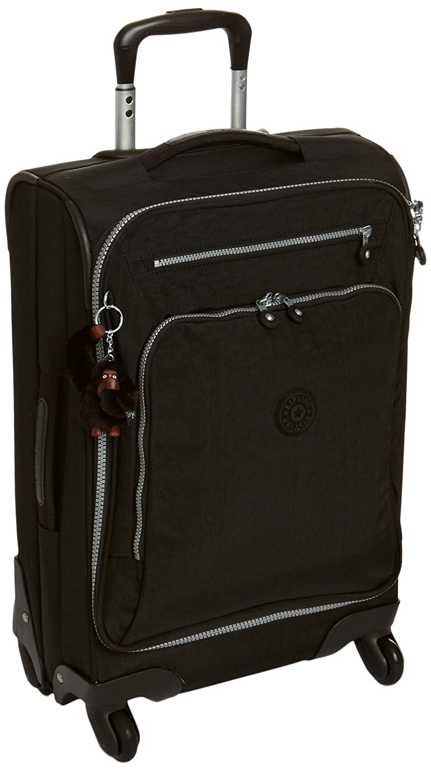 Beautiful Kipling Youri Spin 55, Hand Luggage, 55 Cm, 33 Liters, Black: Amazon.co.uk:  Luggage