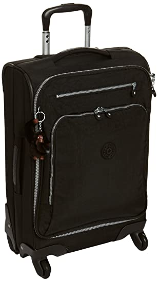 Kipling Youri Spin 55, Hand Luggage, 55 cm, 33 liters, Black: Amazon.co.uk:  Luggage