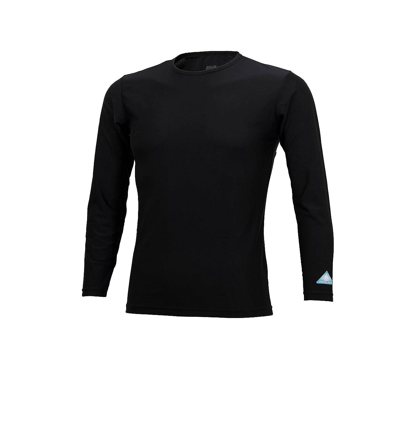 セッションペパーミント野球ナンカイ(NANKAI) テクノライダークールNEOインナーシャツ エンボス ブラック/レッド Size L SDW-3050