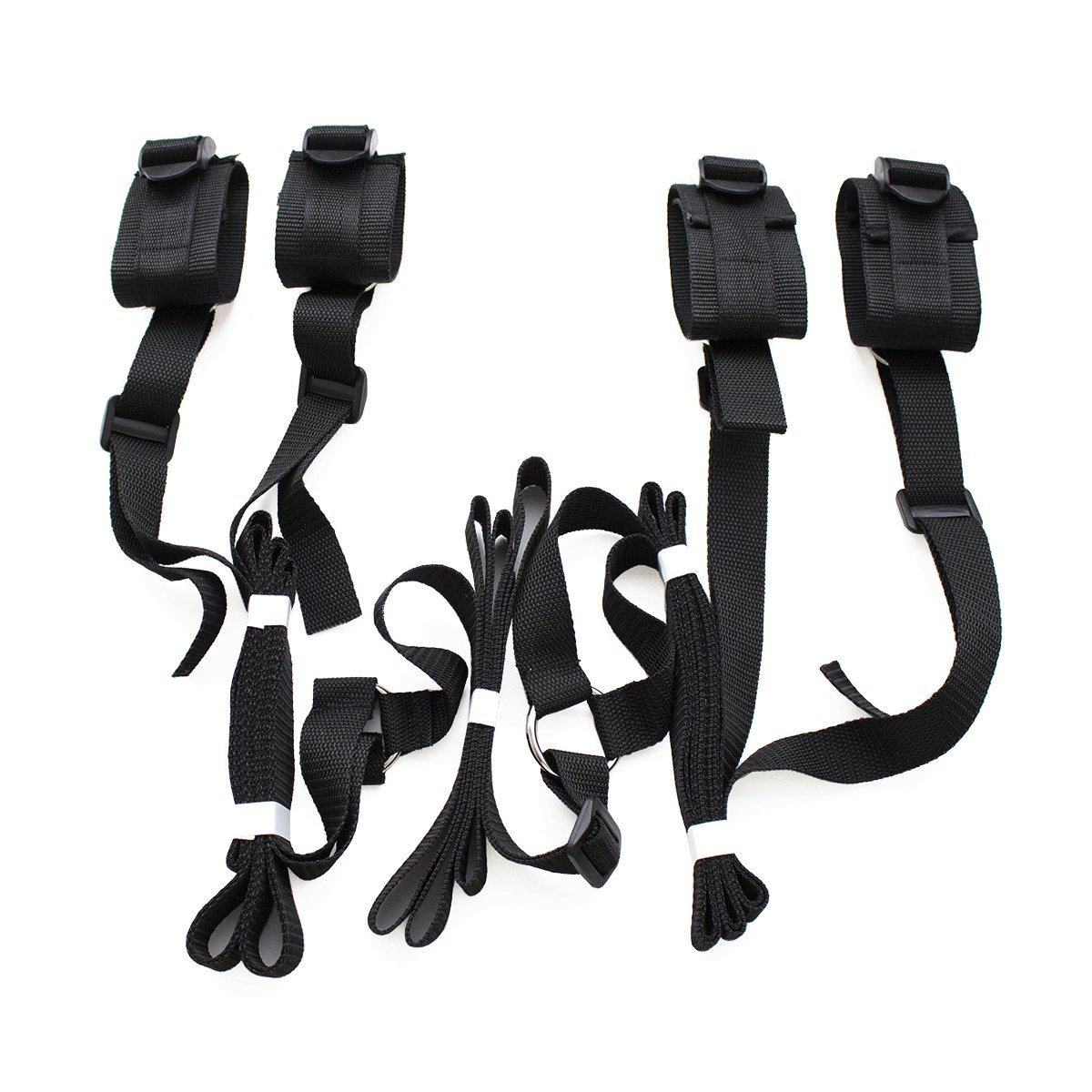 LVYI Adjustable Under the Bed Restraints Straps Exercise Bands for Couples (0002)