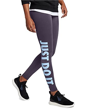 d0f6e4c4251420 Nike Women Pants / Legging/Tregging Leg-A-See Just Do It purple XS:  Amazon.co.uk: Clothing