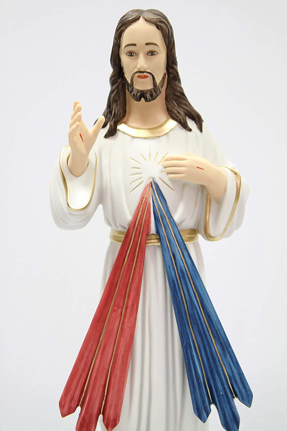 Divine Mercy Jesus Christ 19 Tall Statue Figurine Made in Italy