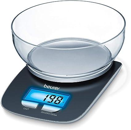 Duronic KS3000 Bilancia da cucina digitale in acciaio INOX portata 5 kG