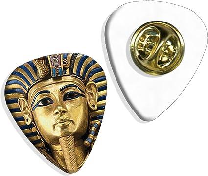 Logo de los Faraones egipcios de Tutankamón (GD) placa de selección de la guitarra: Amazon.es: Instrumentos musicales