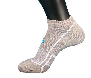 Columbia - Calcetines de Running por montaña, 1 par, Color Gris, tamaño 43-46: Amazon.es: Deportes y aire libre