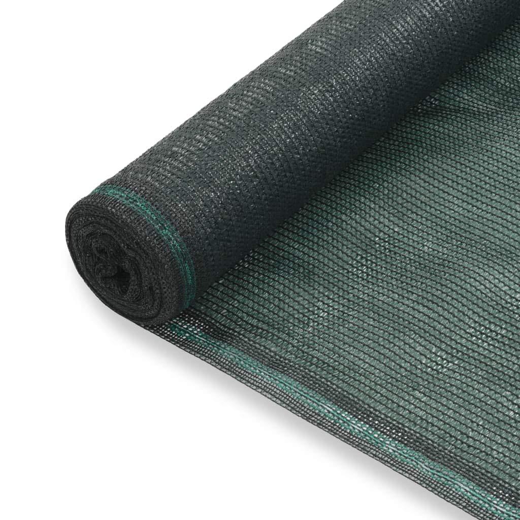 Festnight Toldo para Pista de Tenis HDPE Resistente al Moho y los Rayos UV 1,4x100 m Verde