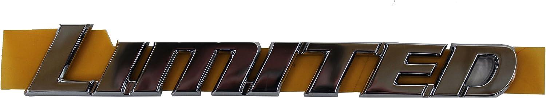 TOYOTA Genuine 75455-35020 Roof Side Nameplate