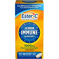Ester C 1000mg 60ct Coate Size 60ct