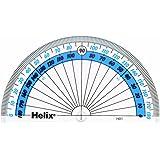 Helix H01040 Rapporteur 10 cm 180 degrés (Import Royaume Uni)