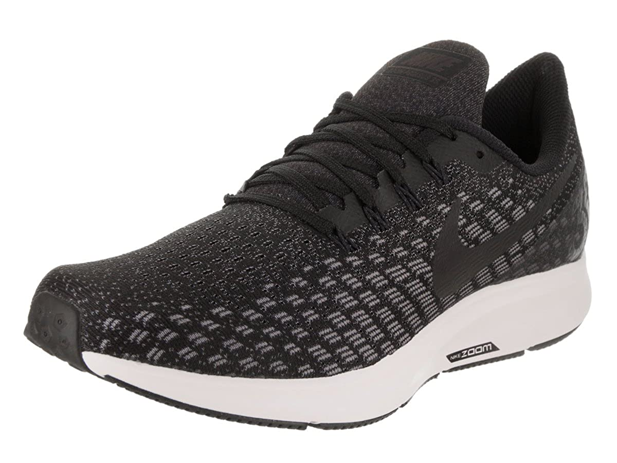 Nike Men's Air Zoom Pegasus 35 BlackOil Grey Gunsmoke White Running Shoe 8 Men US