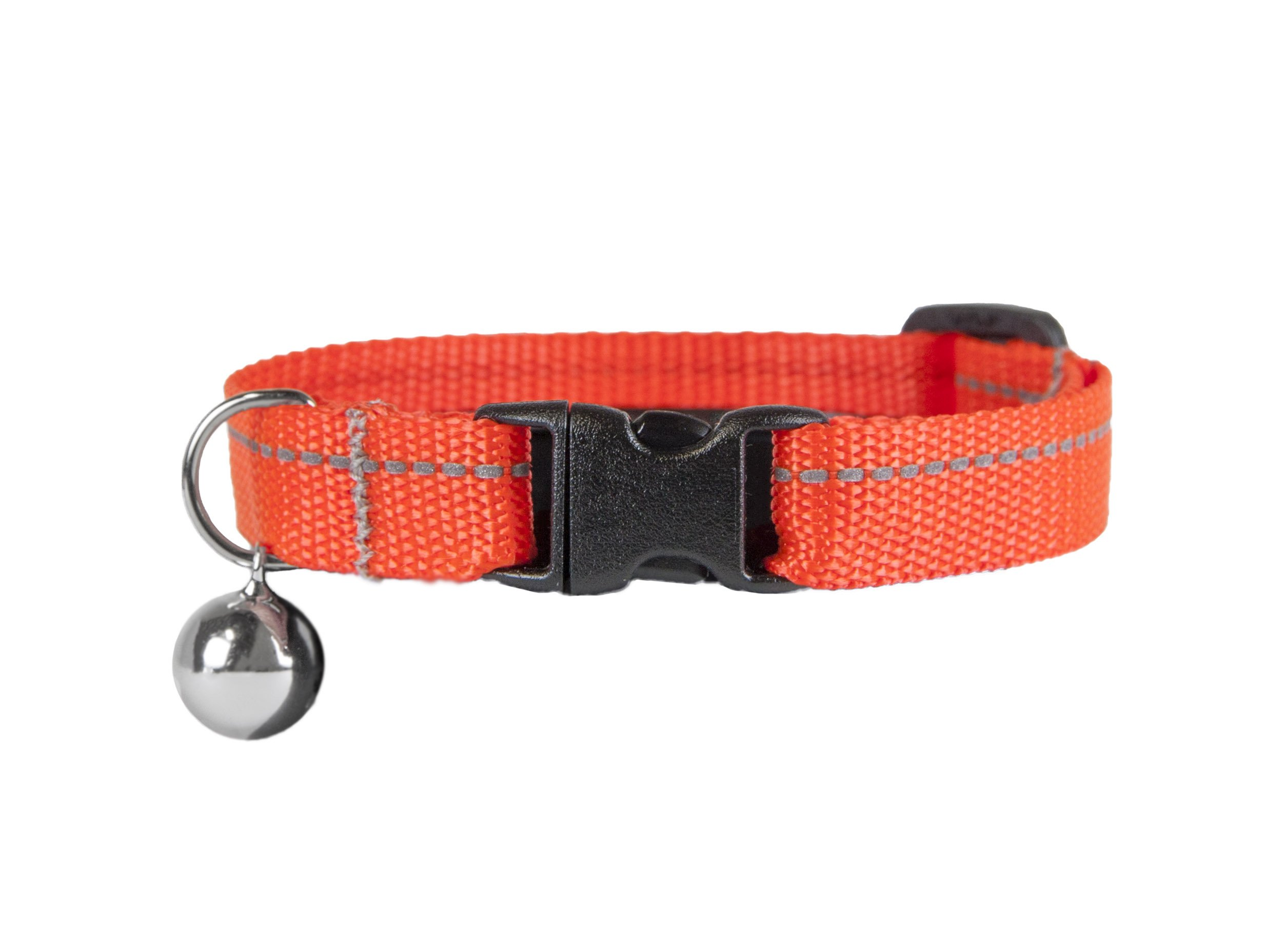 RC Pet Products 1/2 Primary Collection Kitty Breakaway Cat Collar, Orange
