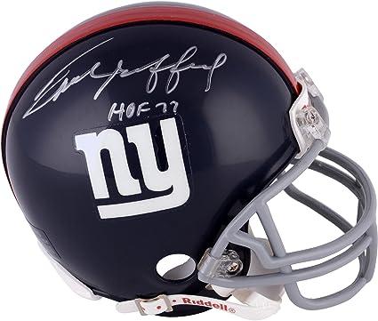 Frank Gifford New York Giants Autographed Riddell Mini Helmet with HOF 77  Inscription - Fanatics Authentic be9c505e7