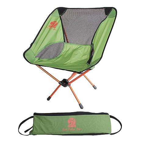 Amazon.com: BOS - Silla de camping plegable portátil con ...