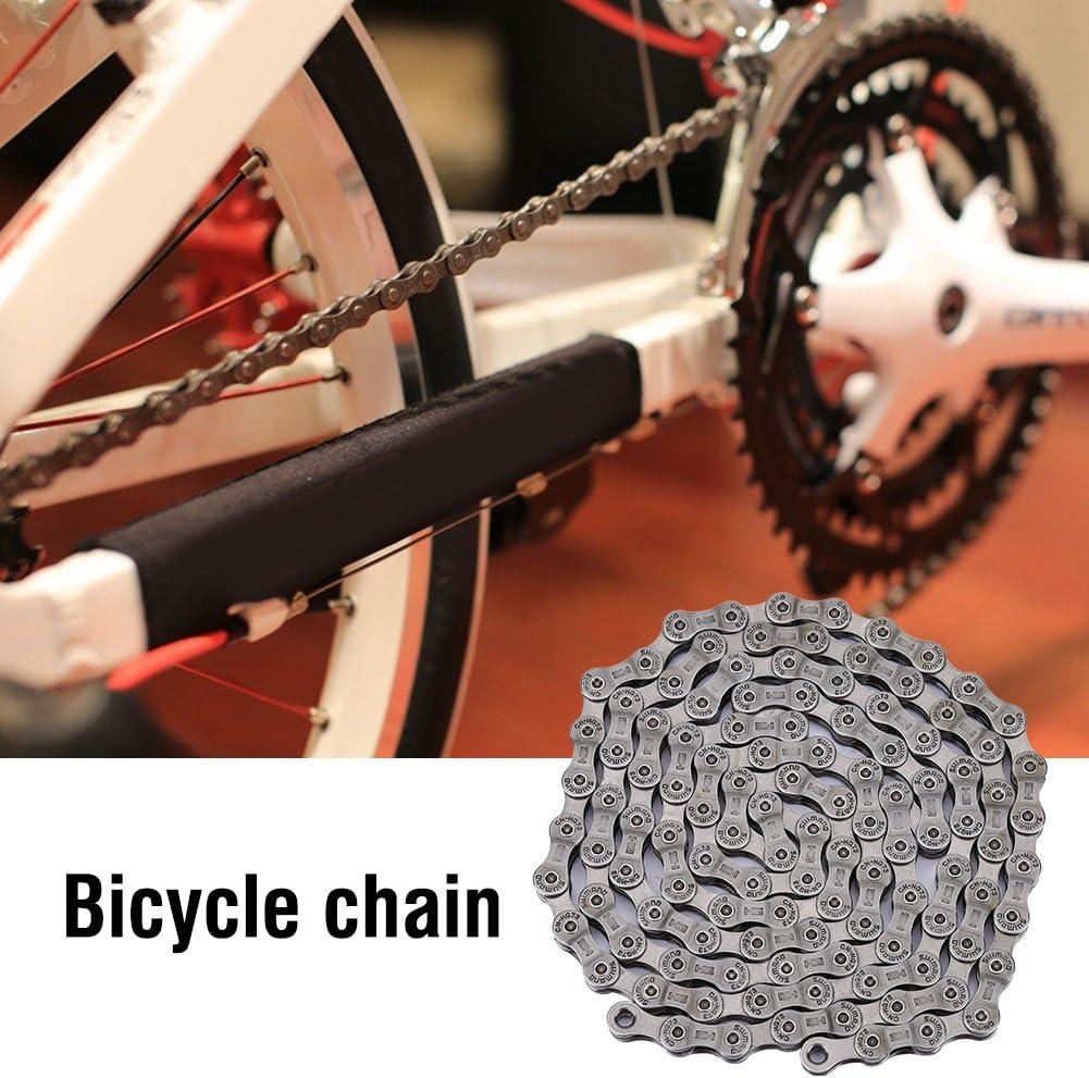 /Kette HG73/9-Schnellspanner f/ür Mountain Zerone Mountain Bike Chain/ Silber 116/links und Rennr/äder