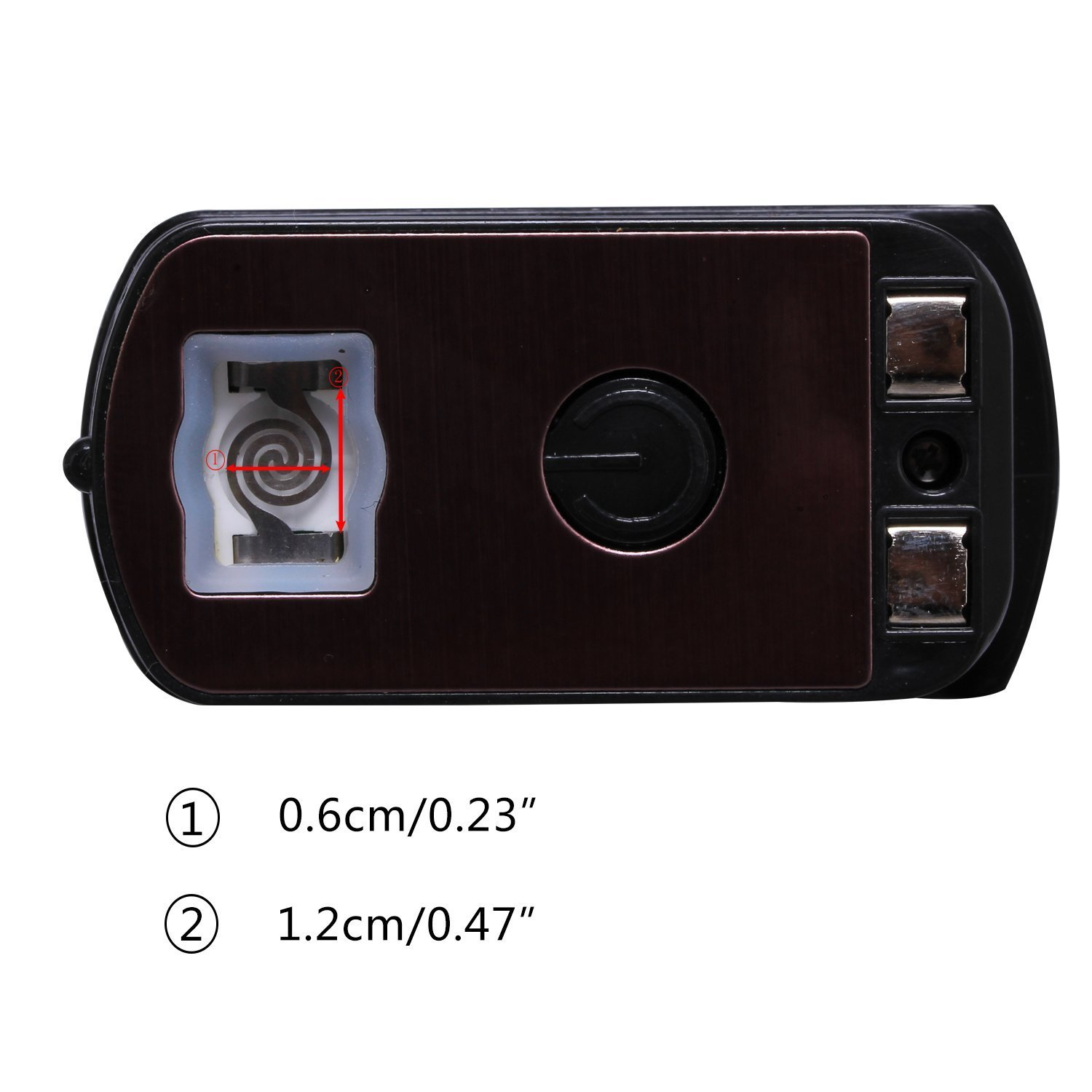 Home Car Ashtray with Lid Blue LED Light Indicator for Car eJiasu Car Ashtray Car Ashtray Lighter Set Detachable Office and Travel 4350411763