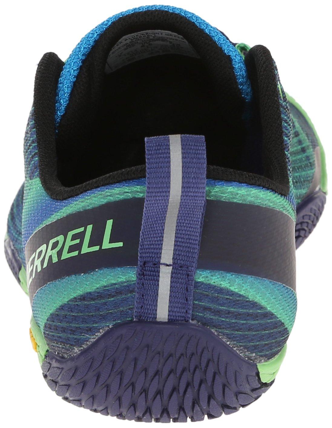 Merrell Men's Vapor Glove 2 Trail Running Shoe, Racer Blue/Bright Green, 9.5 M US by Merrell (Image #2)