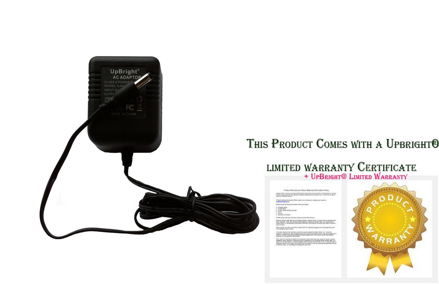 UpBright 12V AC Adapter For ZOOM GFX-4 GFX-8 RFX-1000 RFX-2000 Reverb Multi Effects GFX4 GFX8 Guitar Processor Pedal AD-0008 AD-0008D AD-1200500AU Boss Roland GR-09 ME-6 ME-6B JX-1 DS-330 Pro SE-50 by UPBRIGHT