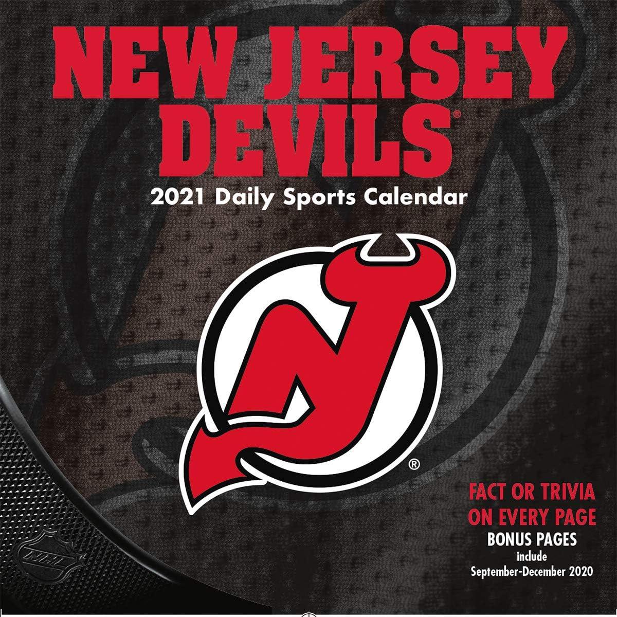 TURNER Sports New Jersey Devils 2021 Box Calendar 21998051464