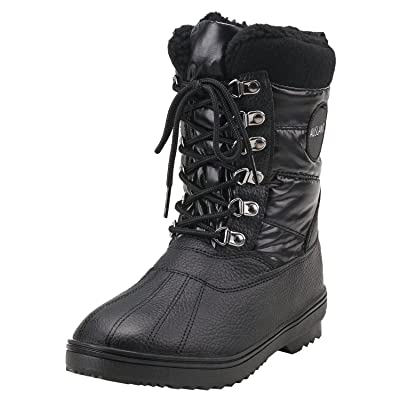 Shenda Men's Short Lace-up Snow Boot E7626 | Snow Boots