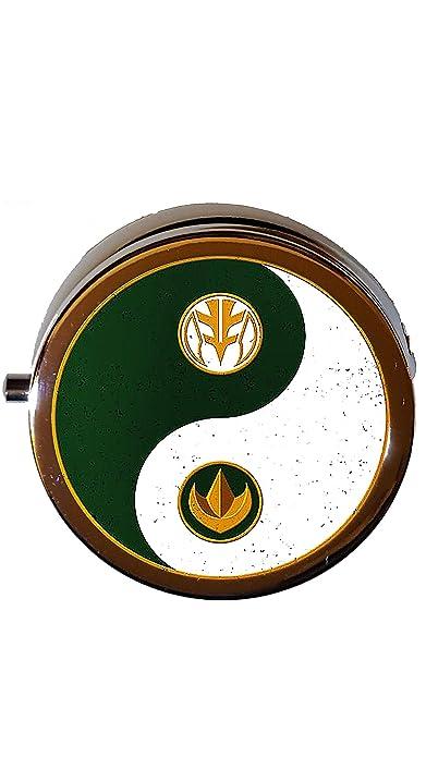 Amazon Com Power Rangers Pill Box Mmpr Medication Box White Green