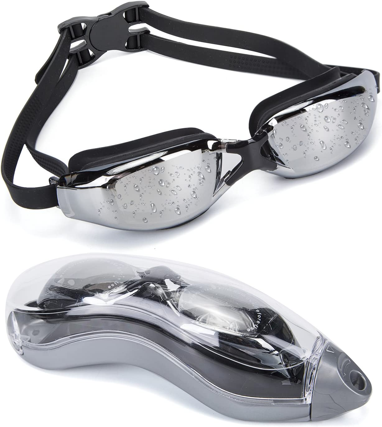MIGAGA Unisex Swimming Goggles For Adults & Children