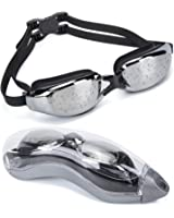 MIGAGA Swimming Goggles - Unisex No Leaking Triathlon Swim Glasses For Adult Men Women Youth Kids Child with Free Protection Case,Swim Goggles with 100% UV Protection,Anti Fog Technology Ultra Comfort