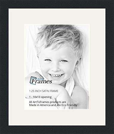 Amazoncom Arttoframes 10 X 13 Inch Opening Single Mat With A