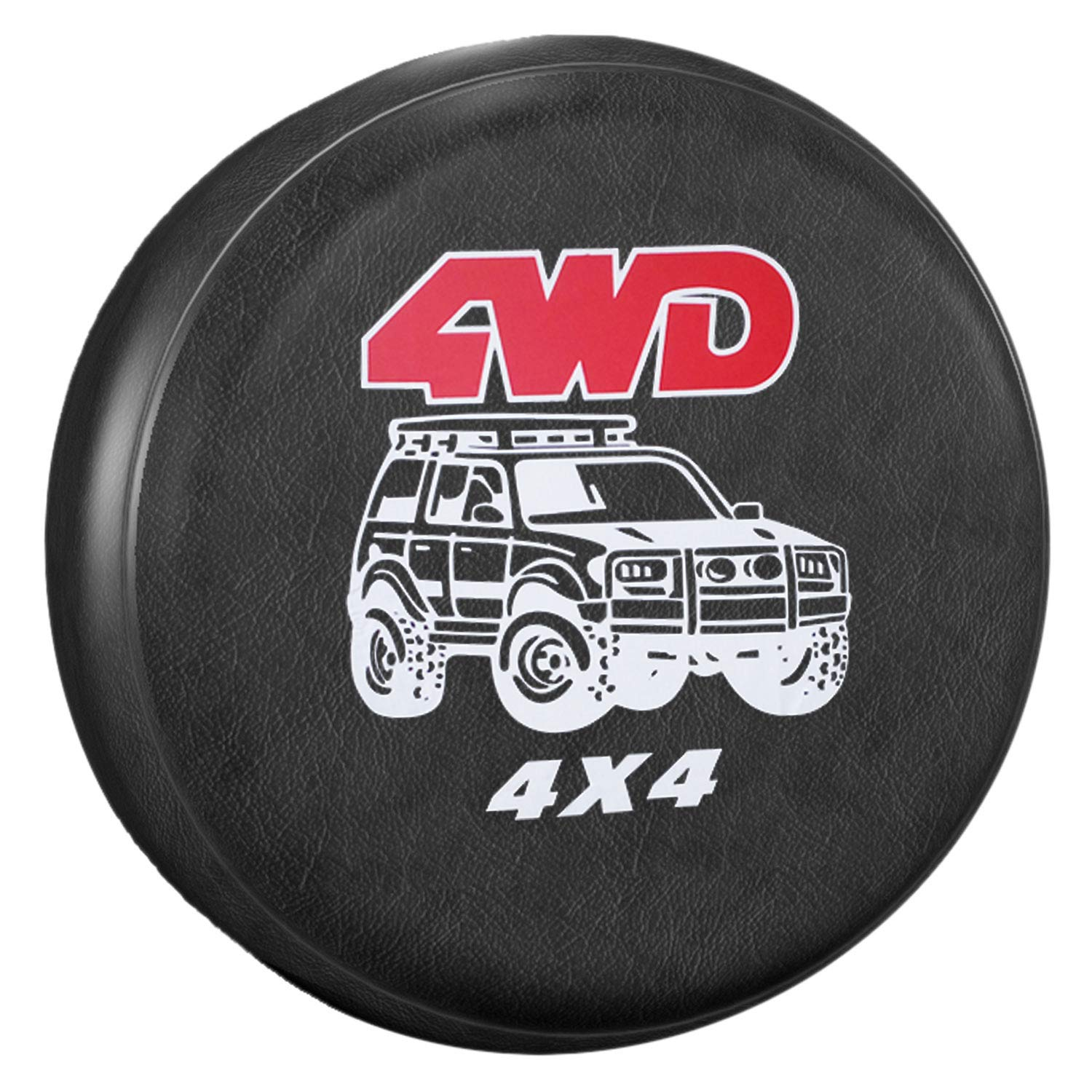 YBB WaterProof Spare Tire Cover, Dust-proof Wheel Tire Cover for Jeep, Trailer, RV, SUV, Truck and More