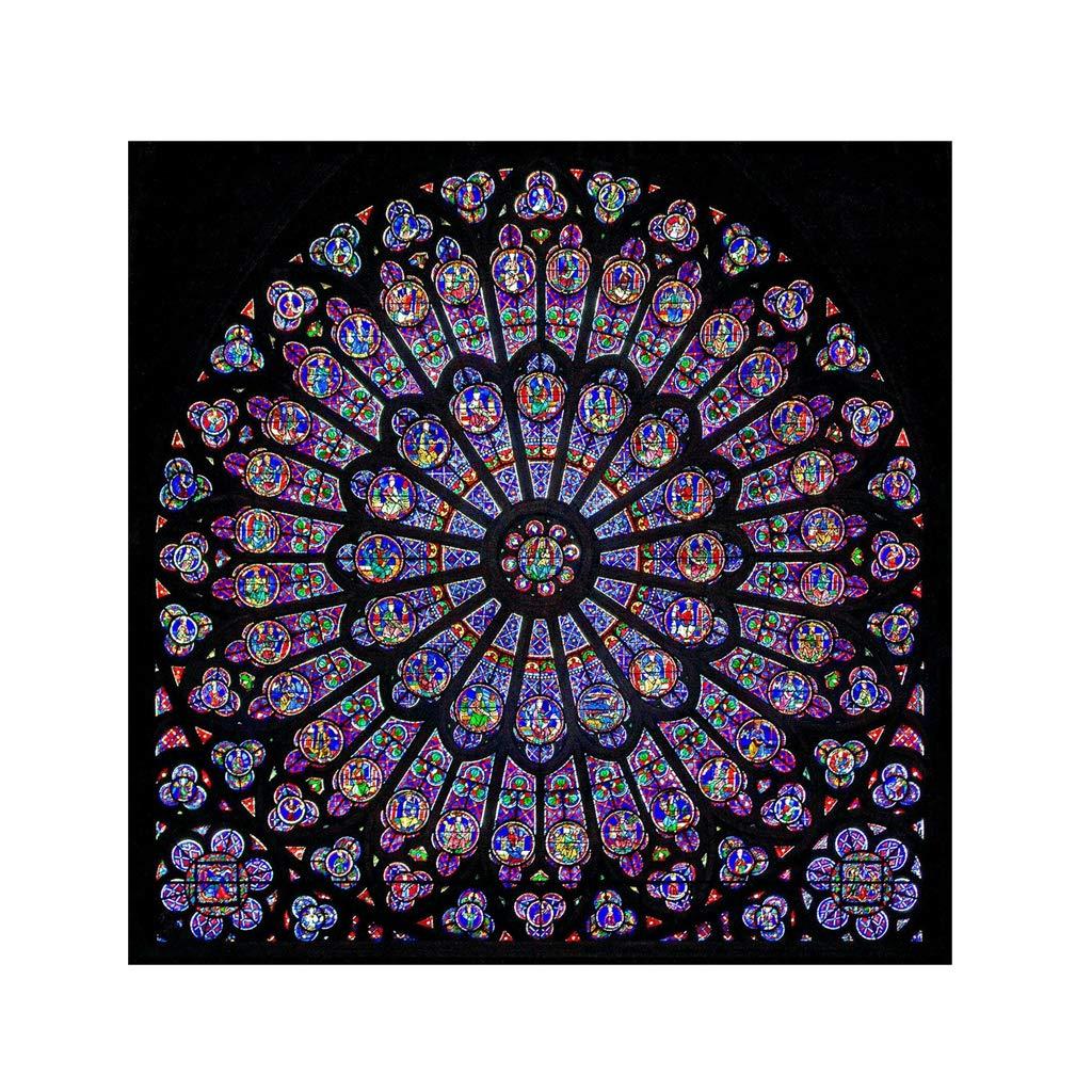 Xmansky Clásico parisino de Notre Dame con rosetones ...
