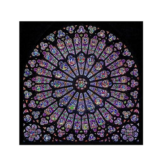 Nncande Notre Dame De Paris - Pegatina Decorativa para Ventana de ...