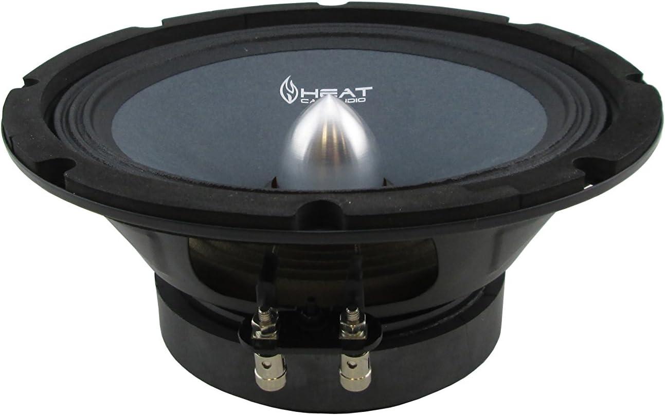 Blast King HEAT8BT 8-Inch Midrange Speaker with Bullet