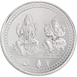 Bangalore Refinery 999 Purity Silver Coin 2 in 1 100 Gram