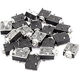 Amazon.com: uxcell 20x Aluminum Housing Stereo 46dB Full ...
