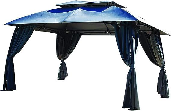 COULEURS DU MONDE 3700263302534 - Cenador de pérgolas, Color Gris: Amazon.es: Jardín
