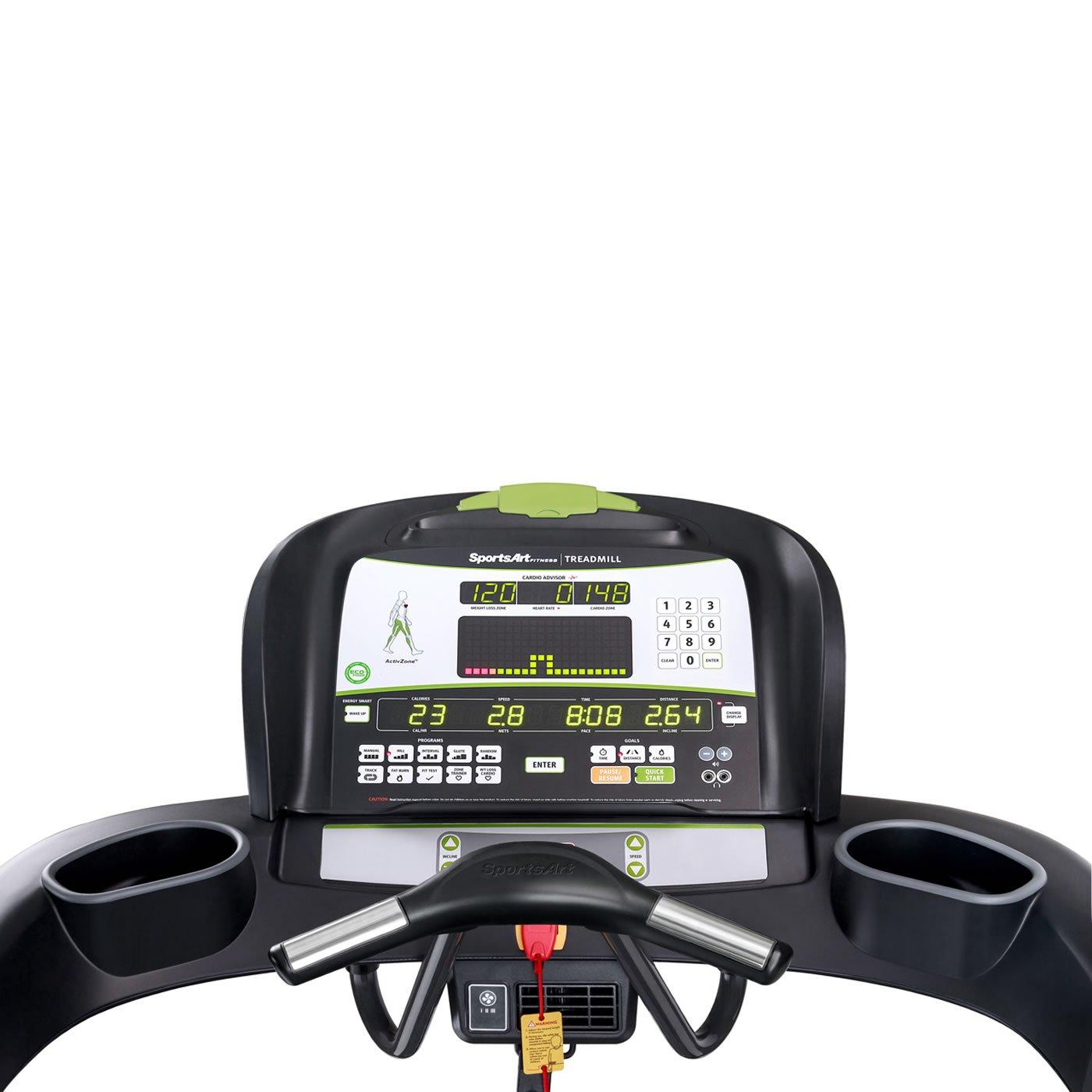 sportsart Estado T655 cinta de correr running máquina ejercicio ...