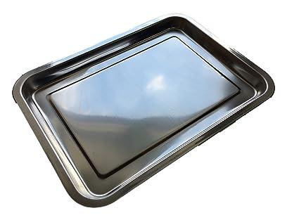 Acero inoxidable Bandeja de servir 36 x 27 cm – embutido placa placa para