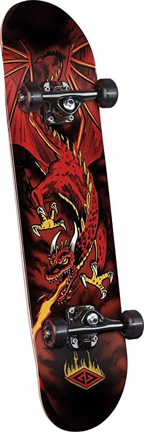 Powell-Peralta Powell Golden Dragon Flying Dragon Complete Skateboard 8f64f4bf610