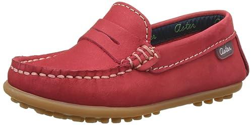 Aster MOCADI, Mocasines para Niños, (Rouge), 31 EU: Amazon.es: Zapatos y complementos