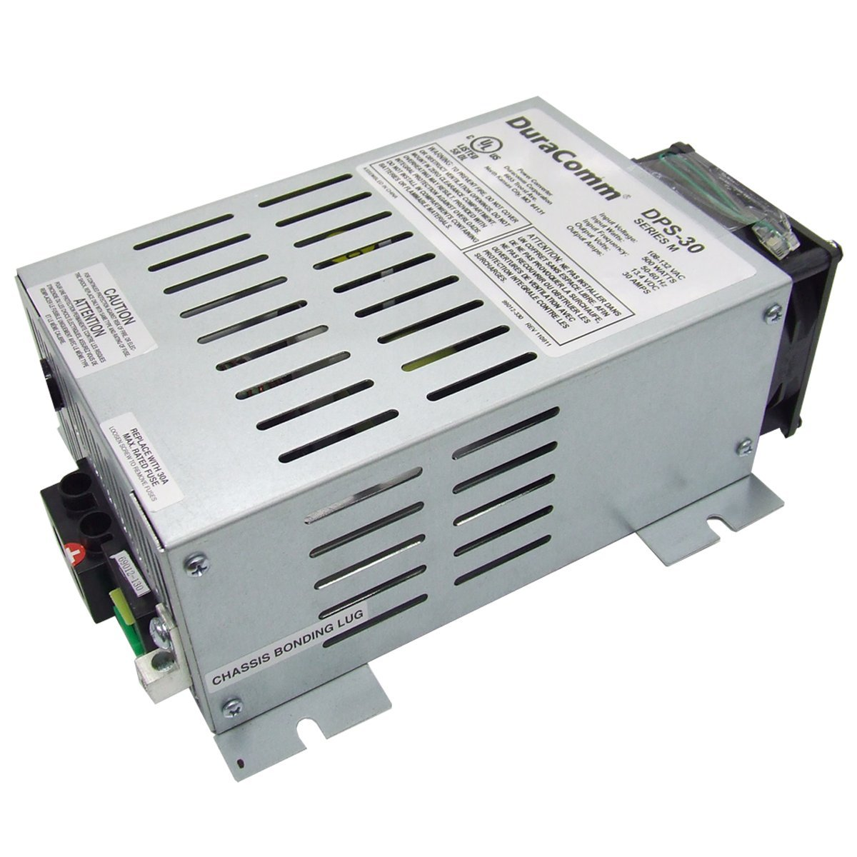 DuraComm DPS-30 Power Source Utilities with Low Noise Supply