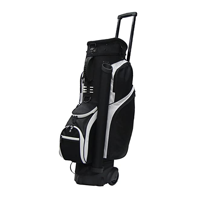 Amazon.com: Bolsa de golf con carro de Rj Sports, 9.5 ...