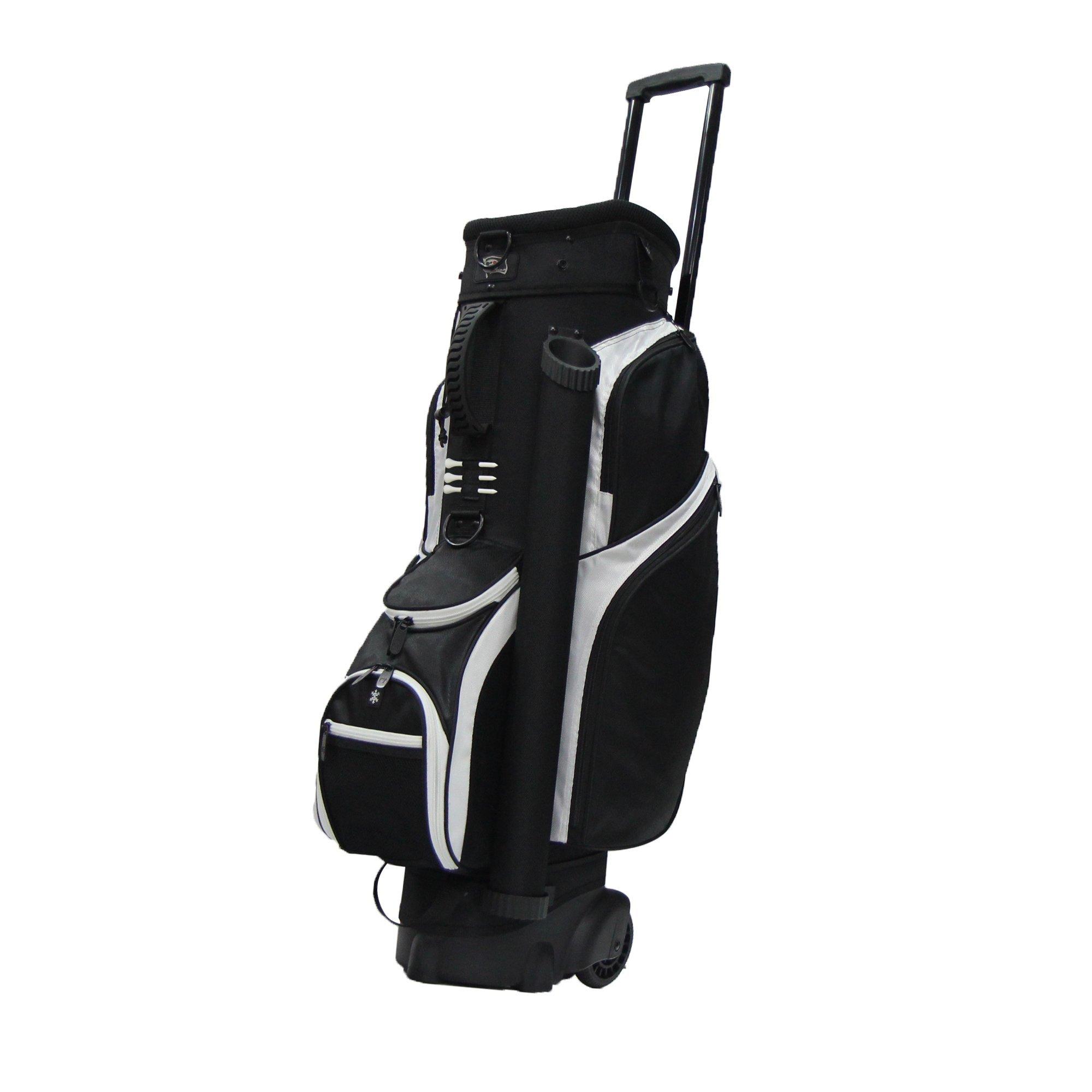 RJ Sports Spinner Transport Bag, 9.5'', Black/Black by R J Sports (Image #1)