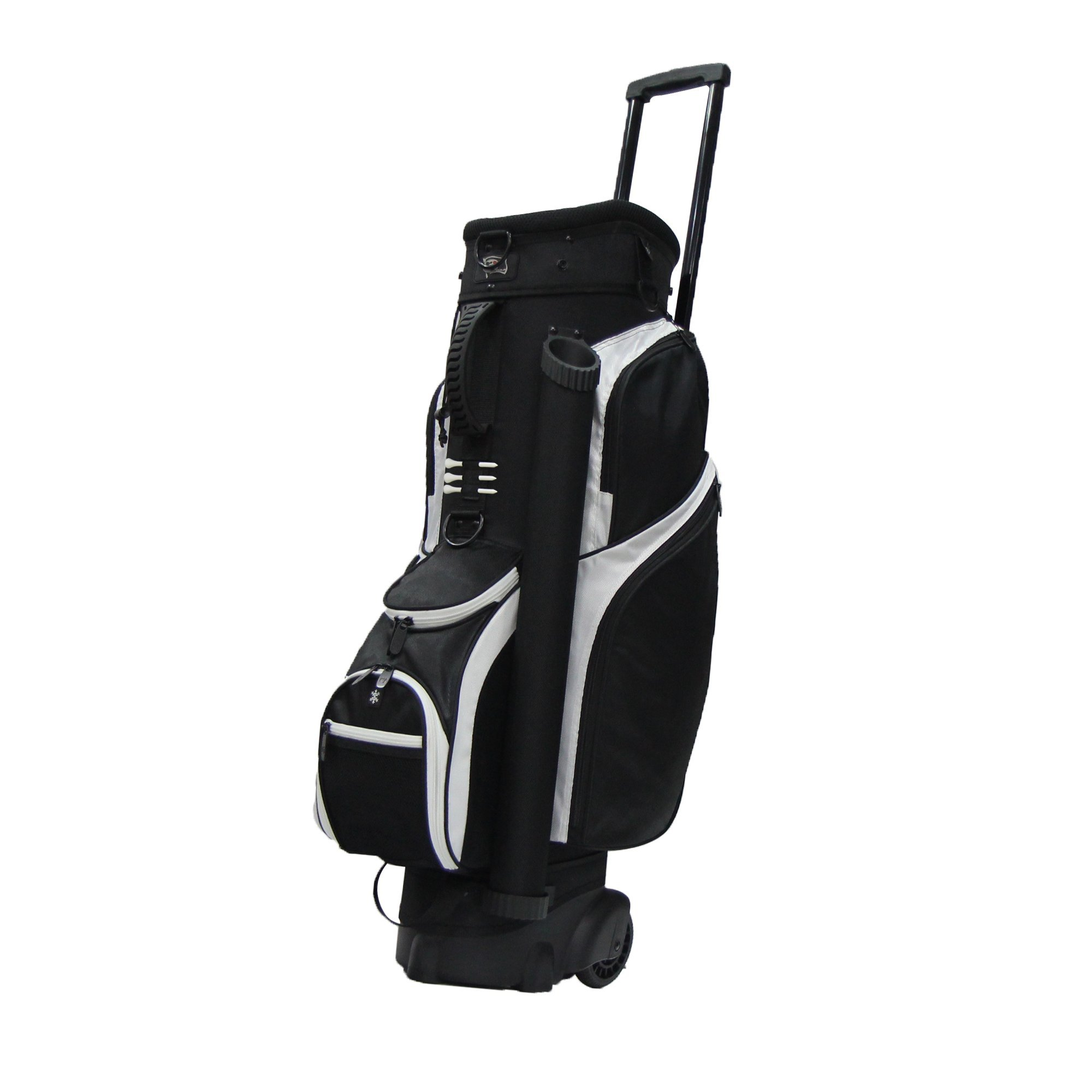 RJ Sports Spinner Transport Bag, 9.5'', Black/Black