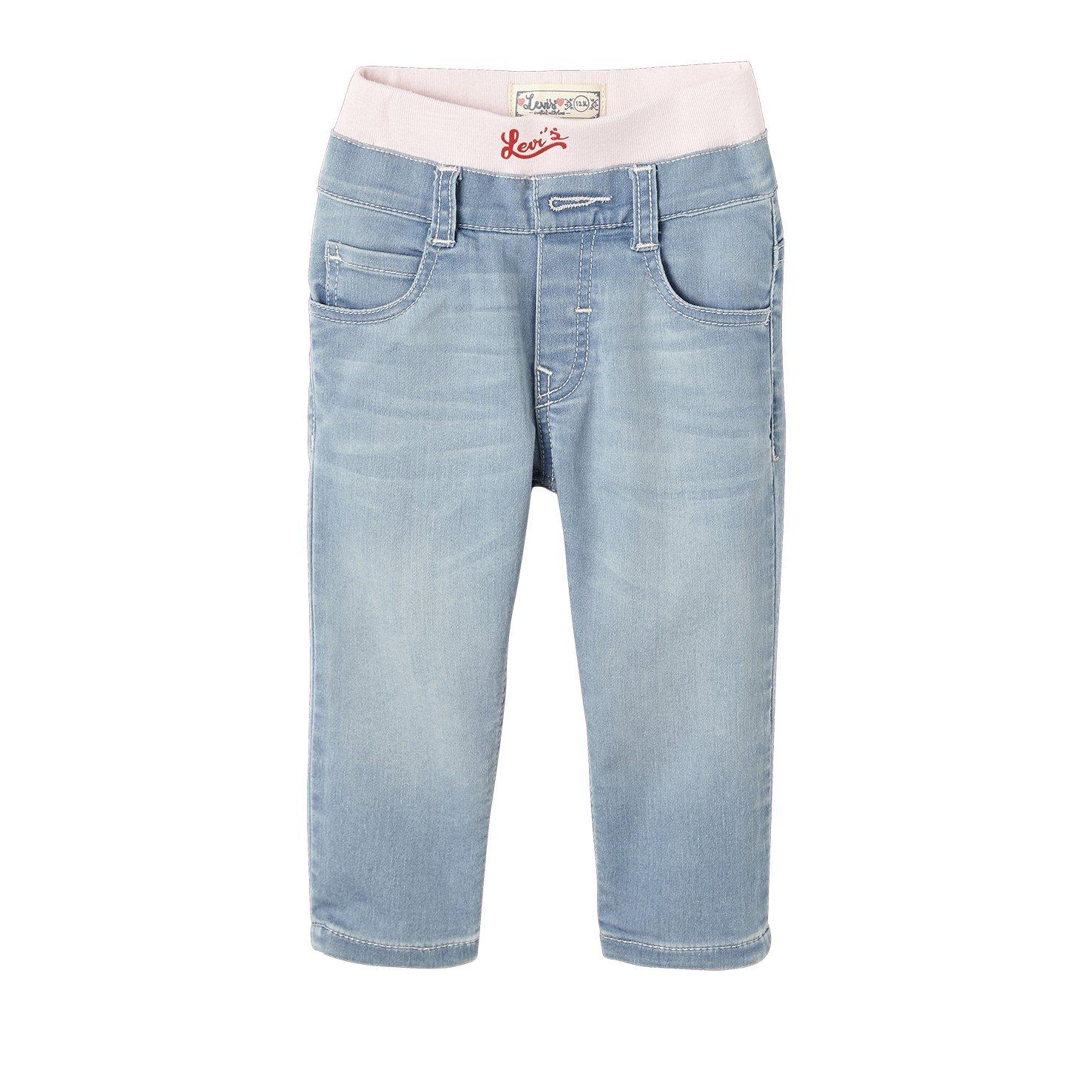 Levi's Baby Girls' Nl22504 Jeans Blue (Denim 46) 12-18 Months Levi's Kids