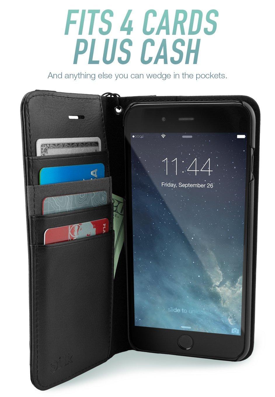 Amazon.com: Silk iPhone 7 Plus/8 Plus Wallet Case - FOLIO WALLET ...
