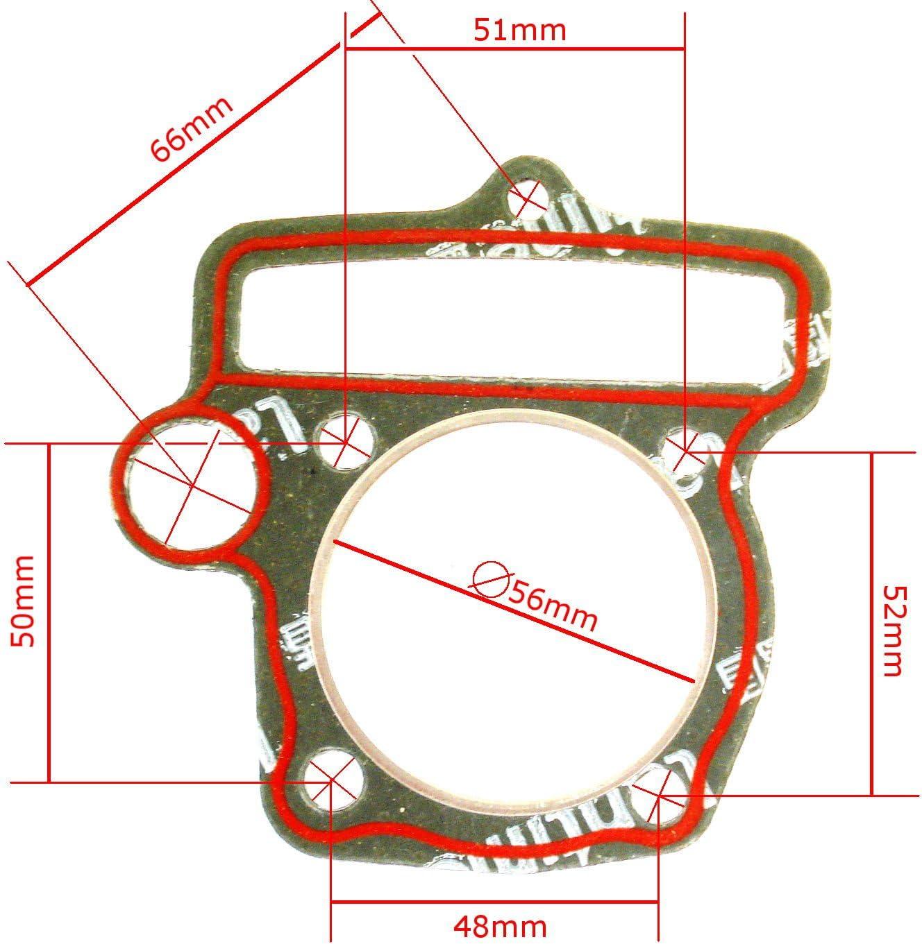 Hmparts Motordichtsatz Motordichtungssatz Yx 140 Ccm Lk Dirt Pit Bike Quad Auto