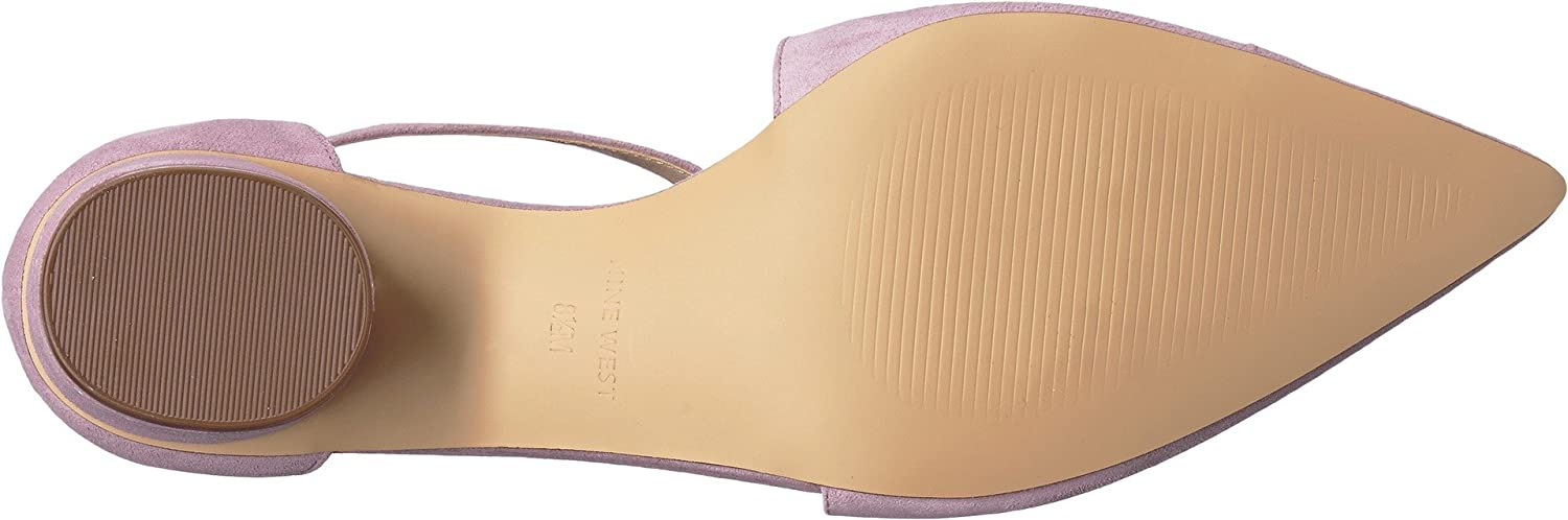 Nine Zalk West Damens's Zalk Nine Light Purple Suede 9.5 M US - ac0281